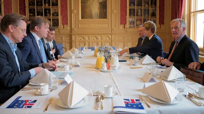 MPs meet with EU's Brexit negotiator Barnier