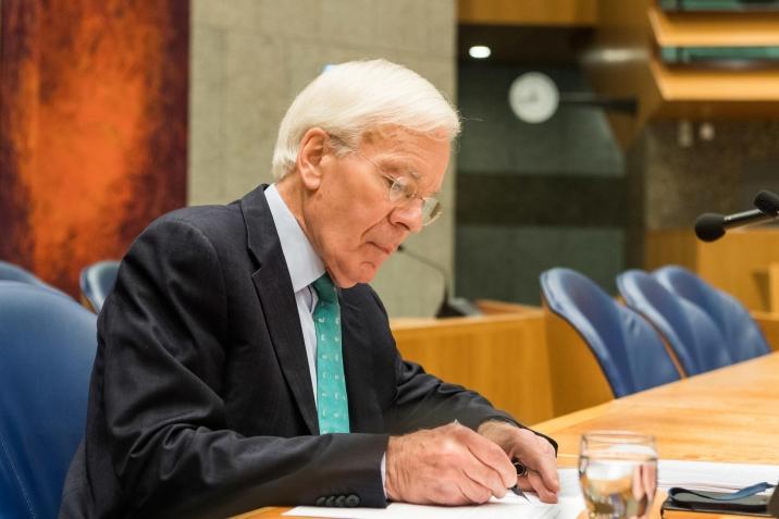 Informateur Tjeenk Willink during a plenary debate