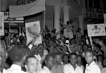 Universal suffrage Curaçao 1949