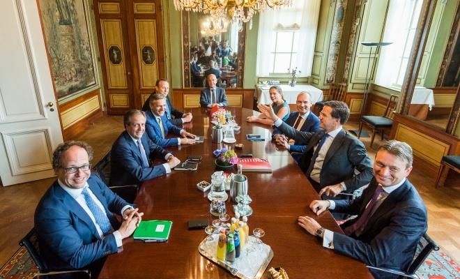 Negotiators with informateur mr. Zalm