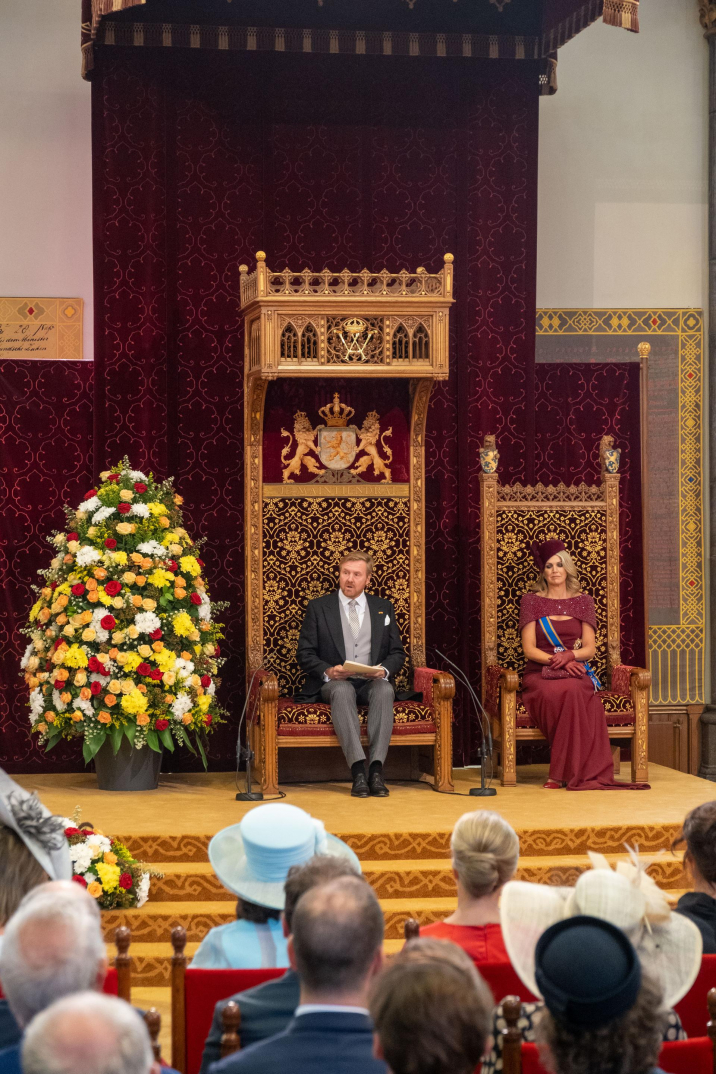 King Willem-Alexander delvers the speech from the Throne on Prince's Day 2019