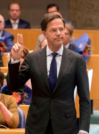 On Thursday 23 March Mark Rutte was sworn in as a member of the House of Representatives, while also being  the Prime Minister of the outgoing Rutte II Cabinet.