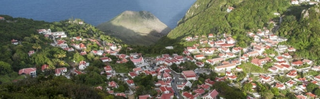 The island of Saba