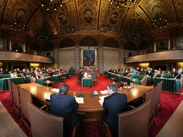Plenary Hall of the Dutch Senate