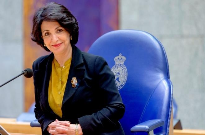 Speaker Khadija Arib