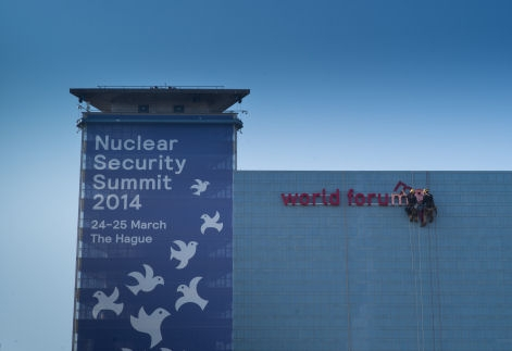 Building of the Nuclear Security Summit in The Hague 2014(