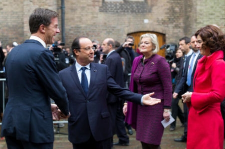Visit of French President Hollande