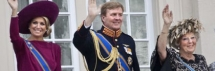 Maxima, Willem-Alexander and Beatrix