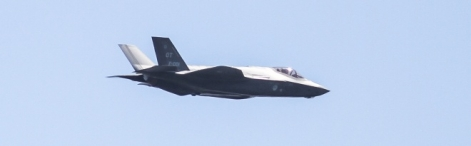 F-35/JSF in the air