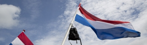 The Dutch flag
